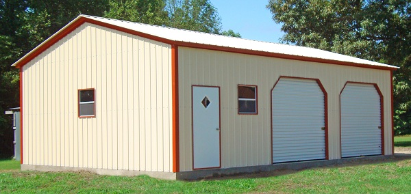 Steel buildings indiana metal garages metal buildings Garage building prices