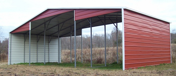 metal carport lean to