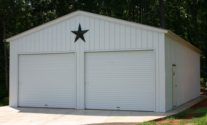 For metal buildings arkansas property owners trust alan 39 s Garage building prices