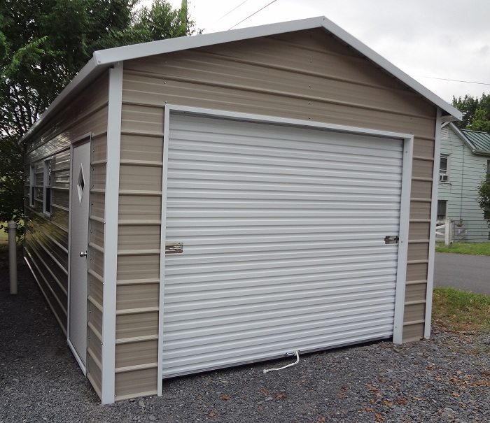 Metal garages nc steel buildings nc delivered and set for Aluminum sheds for sale