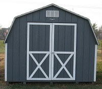 Wood and Vinyl Sheds