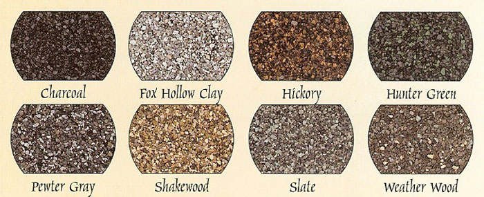 modular horse barn shingle colors