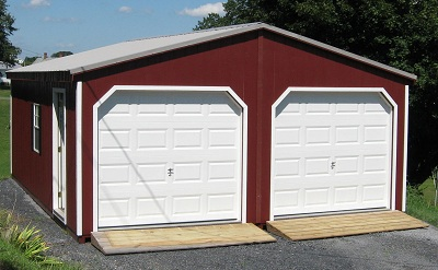 Prefab garages in virginia modular garage at alan s for Prefab double garage
