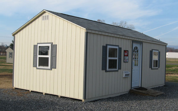Save on quality prefab sheds and prefab buildings at alan for Prefab outbuildings