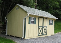 wood shed prices