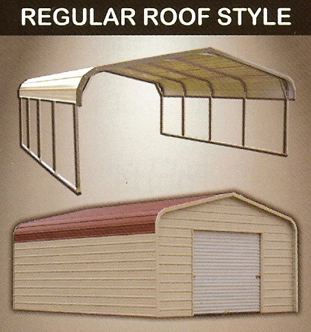 regular style carports and regular style garages