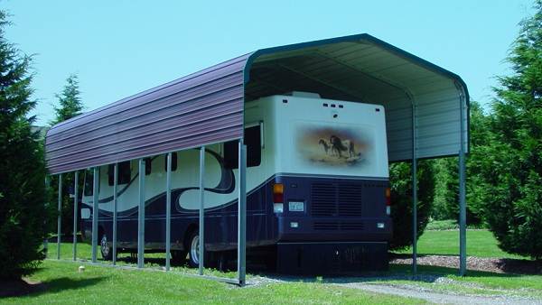 Metal Rv Carports Rv Shelters Alan 39 S Factory Outlet