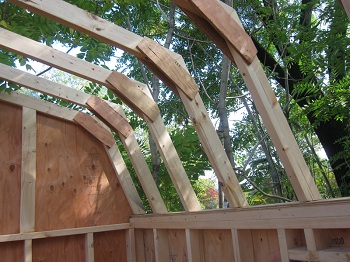 shed kits roof joists