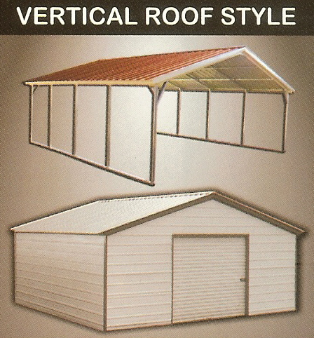 vertical carport