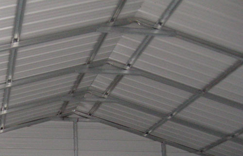 vertical carport roof