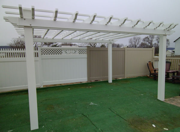 Vinyl Pergola Kits - Vinyl Pergola Kits & PVC Pergola Kits From Alan's Factory Outlet