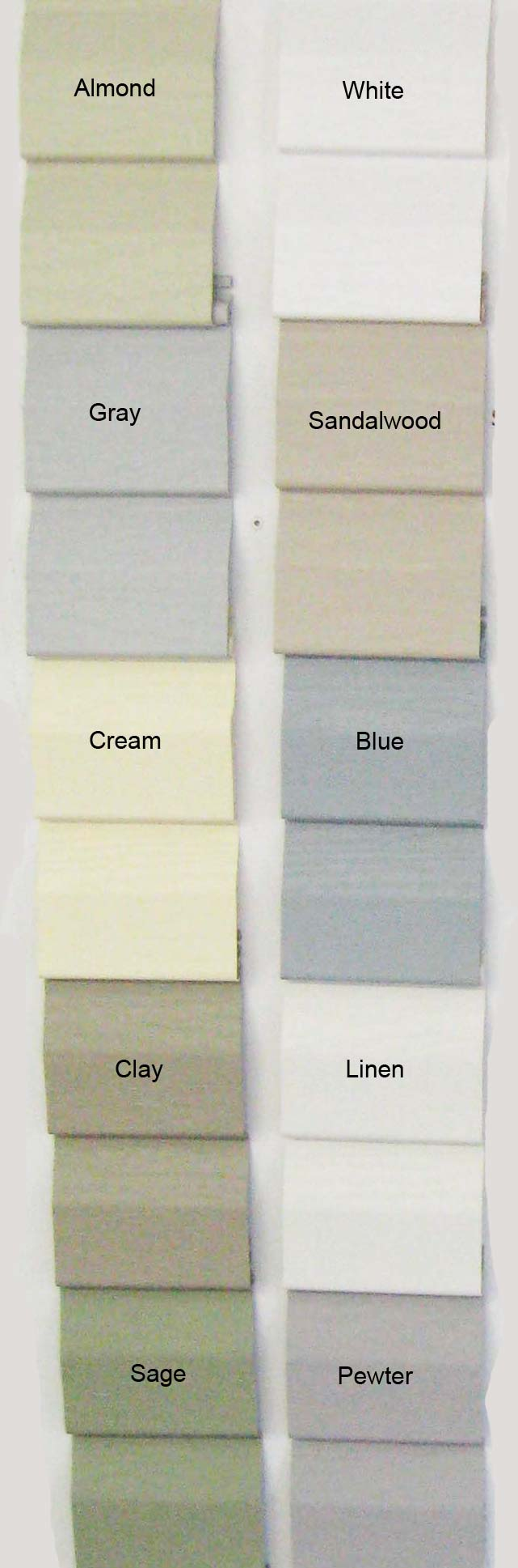 vinyl shed vinyl siding colors alans factory outlet va