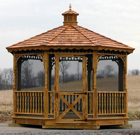 Gazebo Kits: Wood Gazebo Kits - Gazebo Kits: Wood Gazebo Kits, Cedar Gazebo Kits & Wooden Gazebo Kits