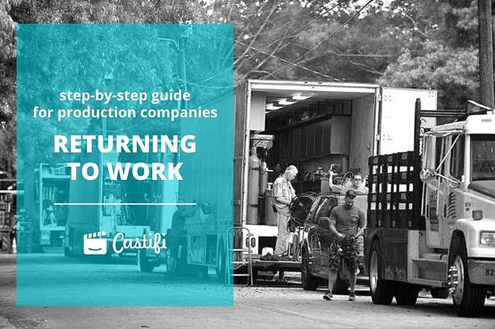 Step-By-Step Guide For Production Companies Returning To Work from Covid-19