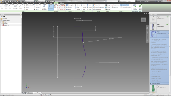 Autodesk tutorial screen capture