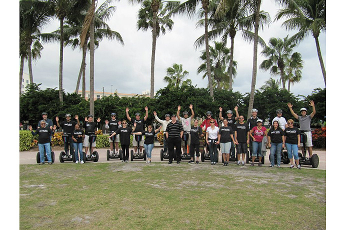 BeQuick Segway Team Building 2013