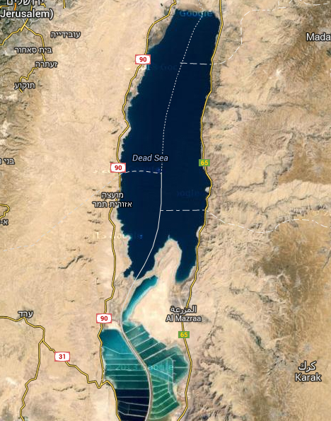Current 2014 Dead Sea
