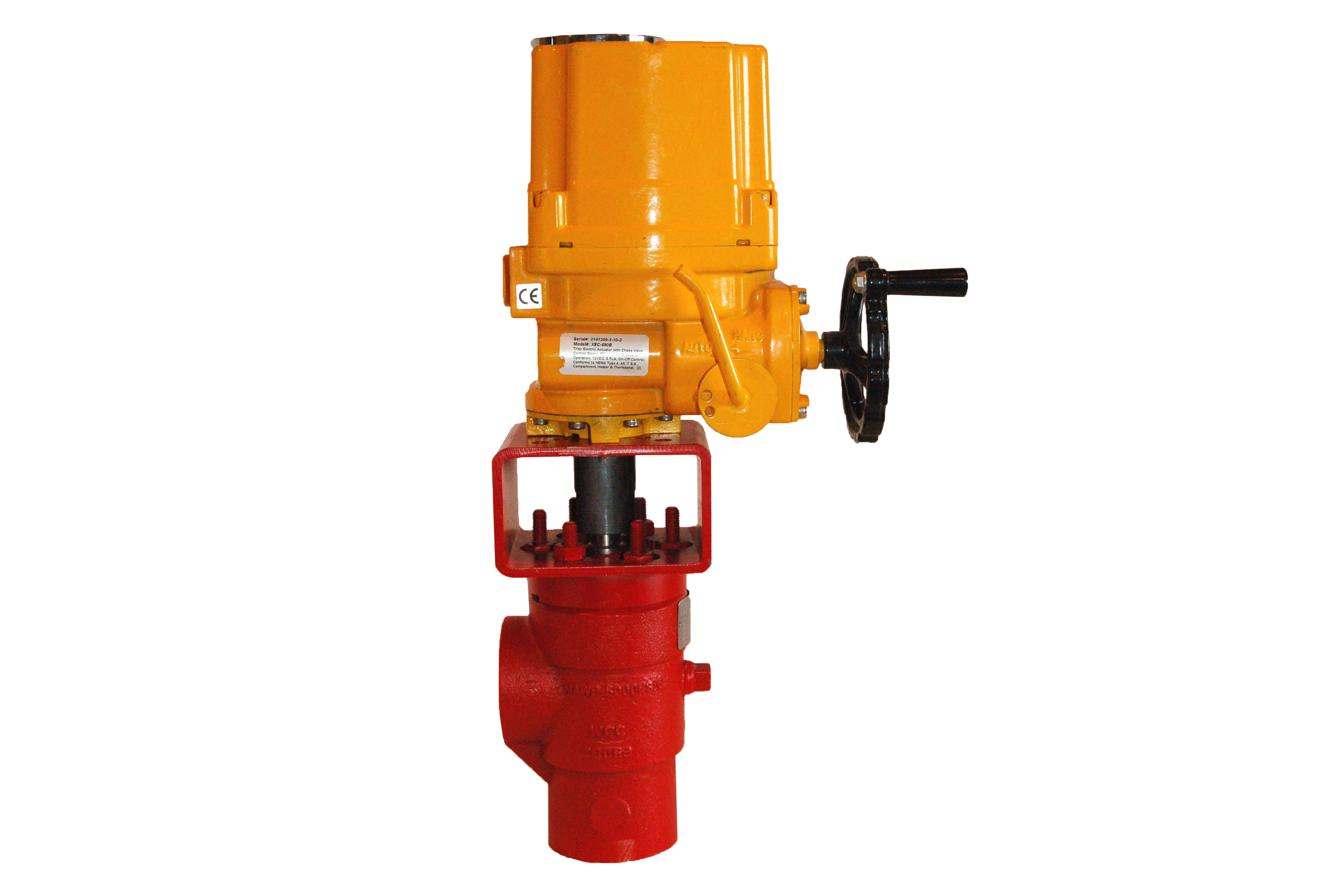 Flow Control Valve And Actuator Combo