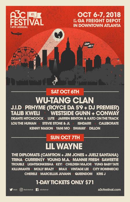 Festival Daily11x17 - A3C 2018