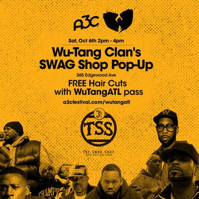 WuTang - SWAG Shop - A3C 2018
