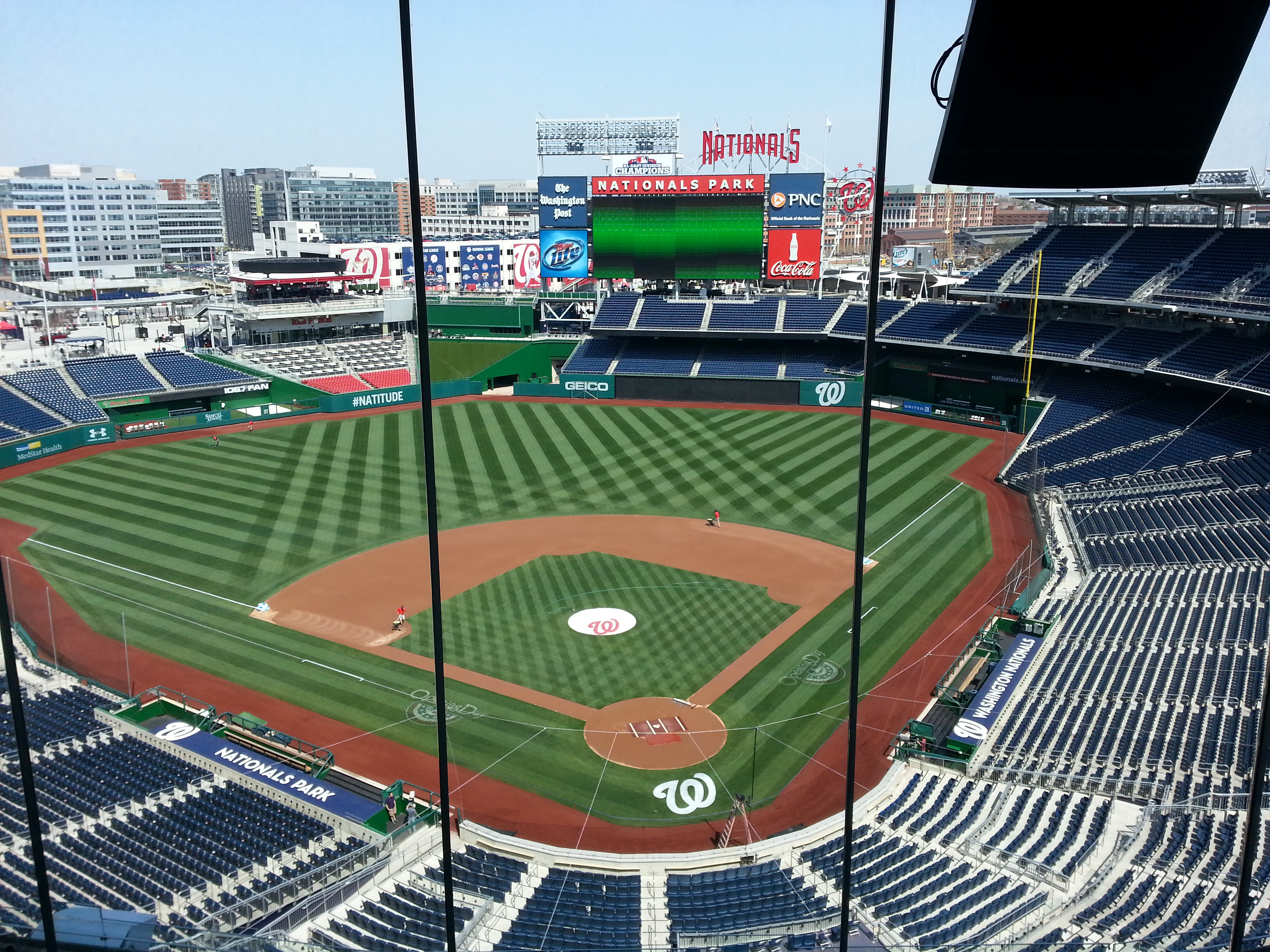How Washington Nationals Selected Tent Cooling For Pnc