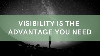 Inventory visibility is the advantage you need to grow your business