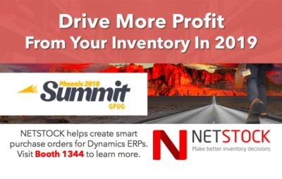 Join NETSTOCK at this year's Dynamics Summit