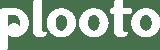 Plooto - Logotype - white