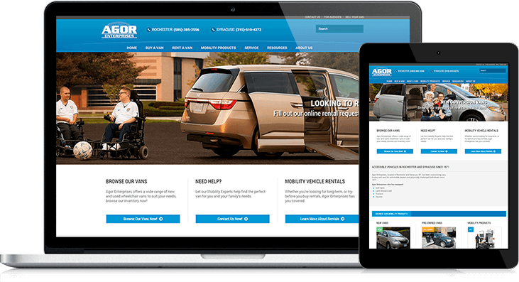 agor enterprises redesign