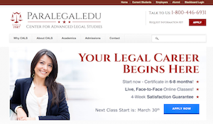 Paralegal Website Redesign