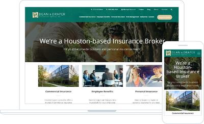 Dean & Draper Benefit from Complete Website Redesign