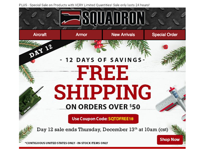 How We Helped Squadron Generate Over 9,000 New Leads