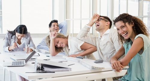 Ha-Ha-Healthy Laughter in the Workplace