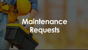 Submitting Online Maintenance Requests
