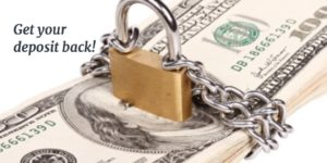 Ensuring the best chance for the return of your security deposit