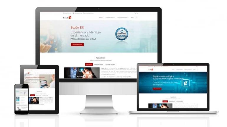 Mejoramos nuestra página web