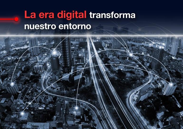 La era digital transforma nuestro entorno