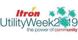 Itron Utility Week 2019 Logo