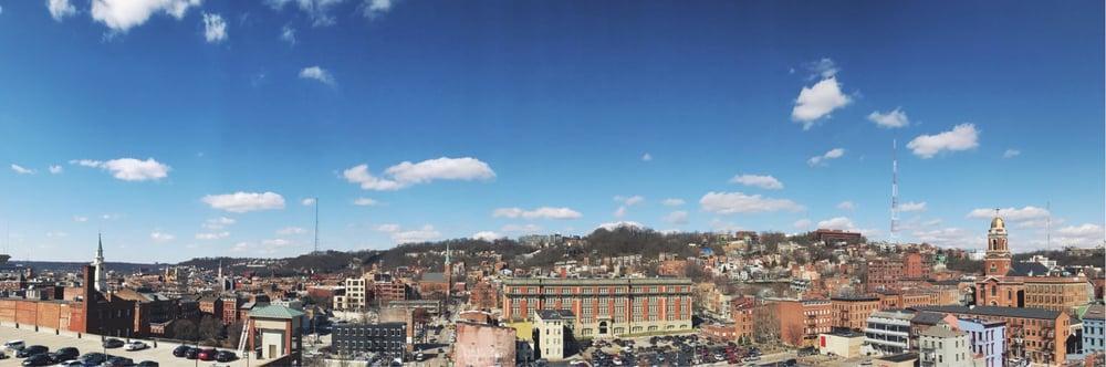 Cincinnati Aerial Shot
