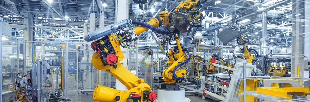 A plant environment utilizing robotics.