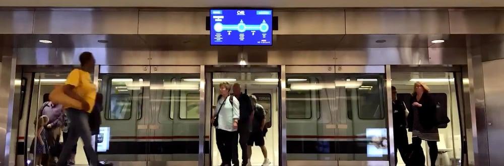 Cincinnati airport timelapse