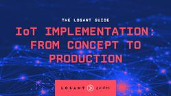 IoT Implementation From Conept to Production Guide Cover