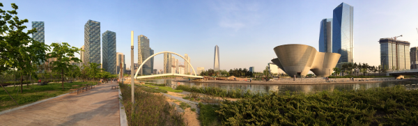 incheon central park songdo