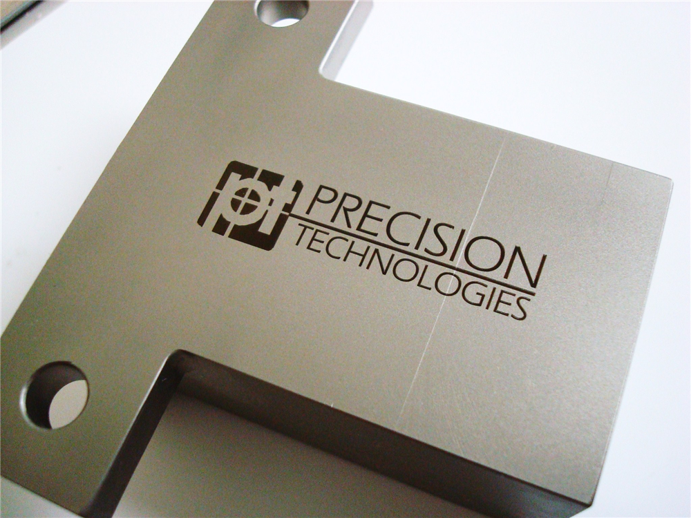 Permanently mark stainless steel with no surface upset using fiber laser marking systems.