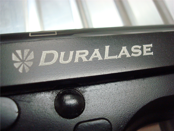 Use fiber laser marking systems to mark firearms.