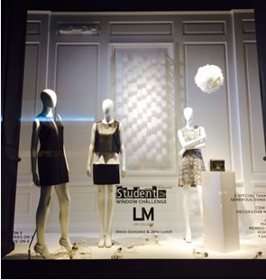Saks LIM College window