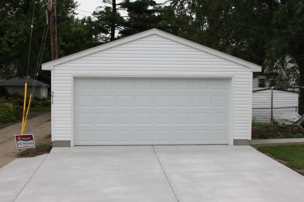 Minneapolis garage builders st paul detached garage construction for Rangements garage saint paul