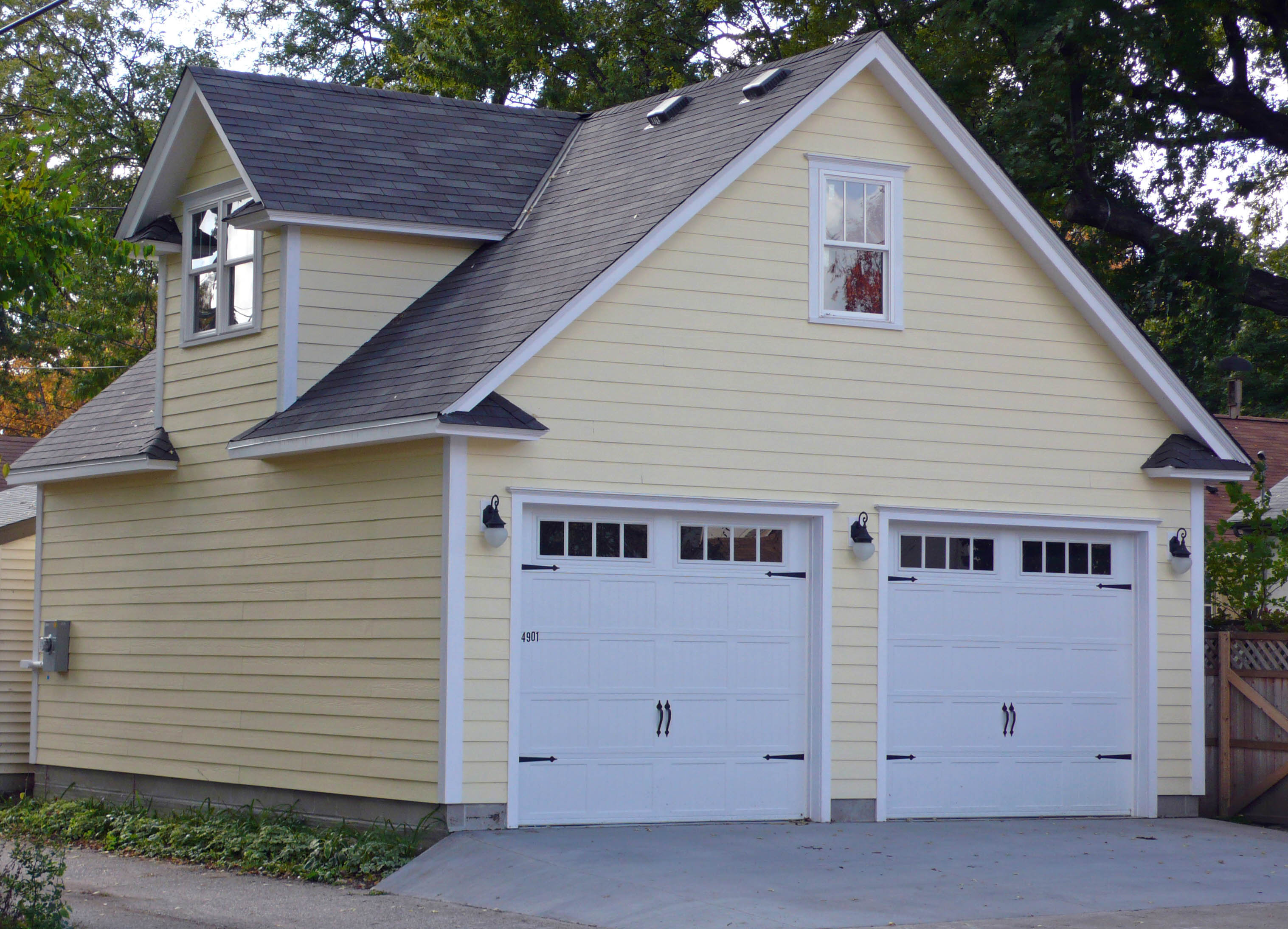 Minneapolis garage builders twin cities garages for Garage styles pictures