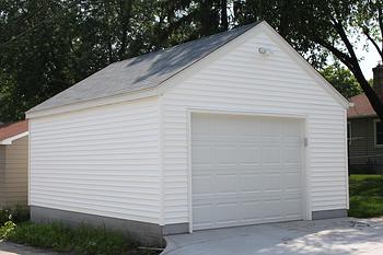 Garage builders mn garage sizes garage designs for Single garage size