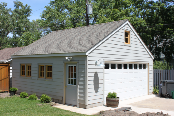 Garage builders mn garage sizes western construction inc for Standard two car garage